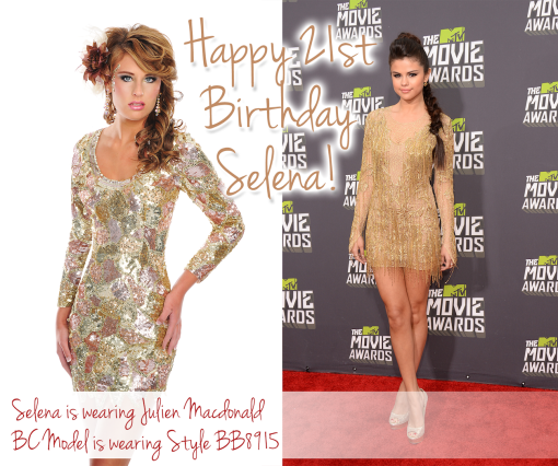 selena birthday comp